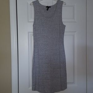 Forever 21 cotton tank dress in Heather gray